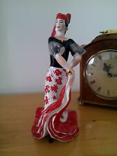 Russian figurine porcelain GYPSY GIRL DANCER in national costume