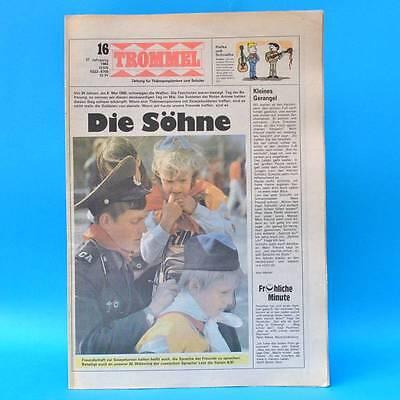 Trommel 16/1984 | Ddr-zeitschrift Pioniere | Storkow Tom Robinson Marzahn ZuverläSsige Leistung