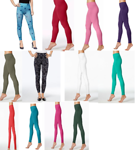 First Looks Seamless Leggings XS S M L XL HUE Choose Your Size and Color  U16948