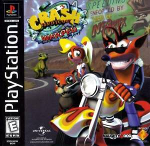 Crash-Bandicoot-3-Warped-PS1-PS2-Playstation-Game-Complete