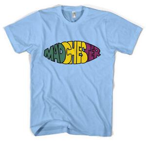 Madchester-T-Shirt-Acid-House-Rave-Happy-Mondays-Hacienda-Unisex-All-Sizes
