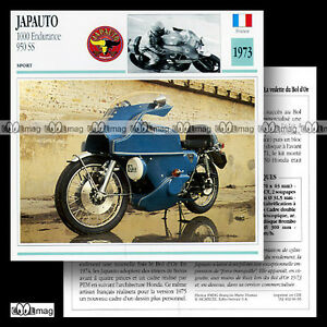 066-05-JAPAUTO-1000-ENDURANCE-amp-950-SS-1973-Fiche-Moto-Motorcycle-Card