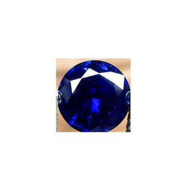 1.8MM NATURAL DEEP BLUE SAPPHIRE - ROUND - DIAMOND CUT -TOP GRADE - LOOSE GEM