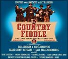 Country Fiddle: Early String Band Music, Vol. 1 [Box] by Various Artists (CD, Jun-2013, 4 Discs, JSP (UK))