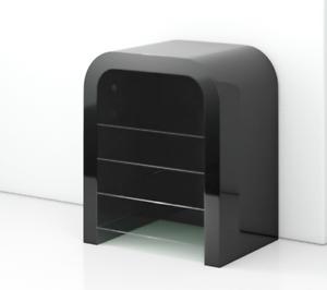 Bespoke Media Storage Unit Retro Entertainmenthi Fi Gloss Modern