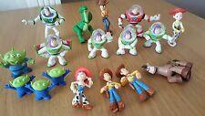 Toy Story x 17 Figures Bundle - Woody, Buzz, Jess, Bullseye, Aliens & Rex