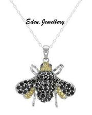 $360 FPJ Stunning Bee Necklace Multi Colour Zirconia Simply GORGEOUS 60% OFF