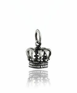 Coronation-Crown-Charm-925-Sterling-Silver-Royalty-Princess-Monarchy-NEW