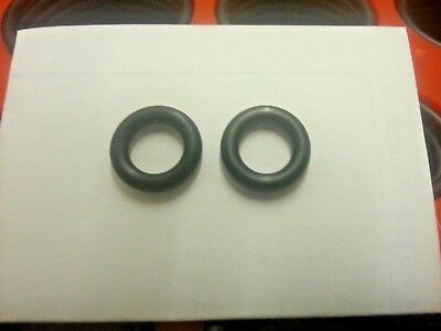 X 2 PORTABLE GAS CAMPING STOVE REPLACEMENT RUBBER NITRILE O RING CANISTER SEALS
