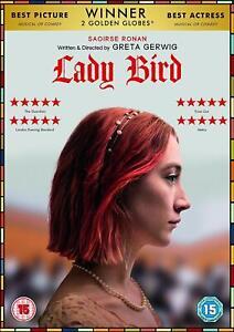 Lady Uccello (2017) DVD Nuovo / Sigillato Saoirse Ronan Greta Gerwig