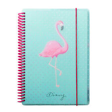 A5 Flamingo Academic Week to View Mid Year Student Planner Wiro Diary 2017-2018