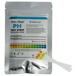 pH-Test-Strips-for-Saliva-amp-Urine-Range-4-5-9-0-100-Testing-Strips