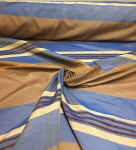 LUXURIOUS BROWNBLUE CURTAIN FABRIC 6 METRES - <span itemprop=availableAtOrFrom>manchester, United Kingdom</span> - Returns accepted Most purchases from business sellers are protected by the Consumer Contract Regulations 2013 which give you the right to cancel the purchase within 14 days after the d - manchester, United Kingdom