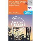 Southend-On-Sea & Basildon by Ordnance Survey (Sheet map, folded, 2015)