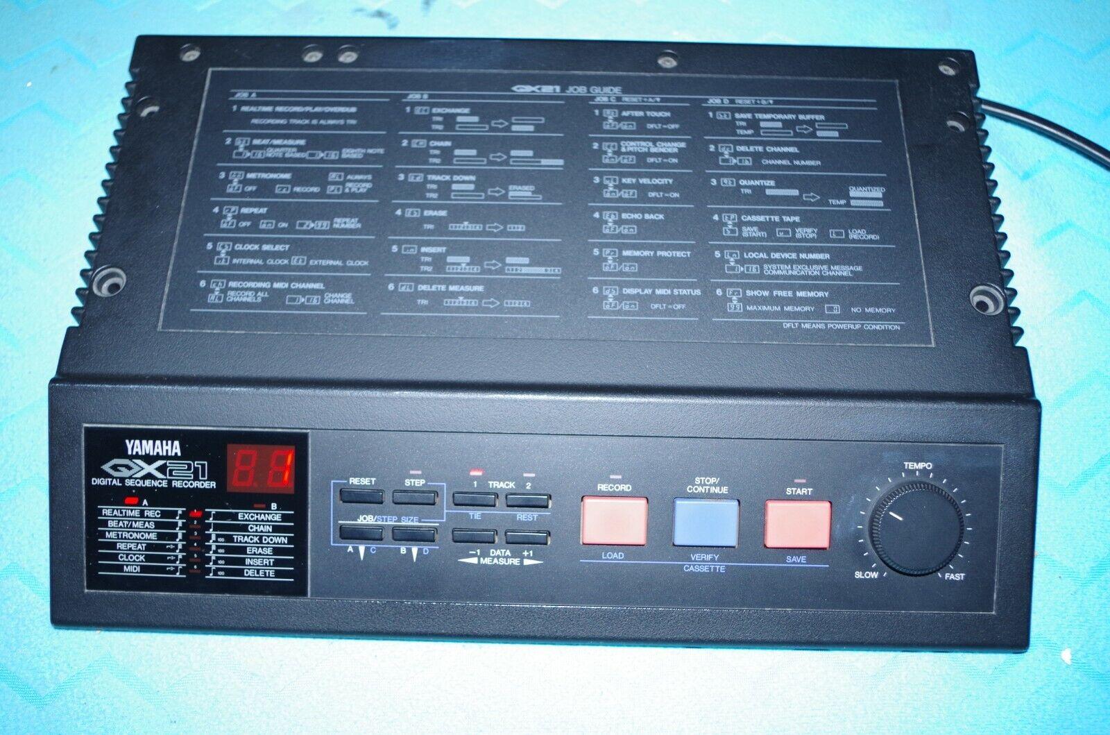 Yamaha QX 21 Step Recorder
