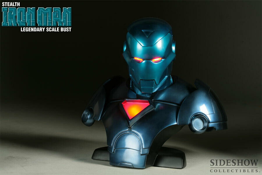 La leyenda del hombre invisible de hierro mide la mitad como una colección exclusiva.
