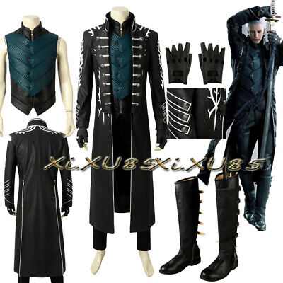 Devil May Cry 5 Cosplay Nero Halloween Costume DMC Cosplay Game Full Set