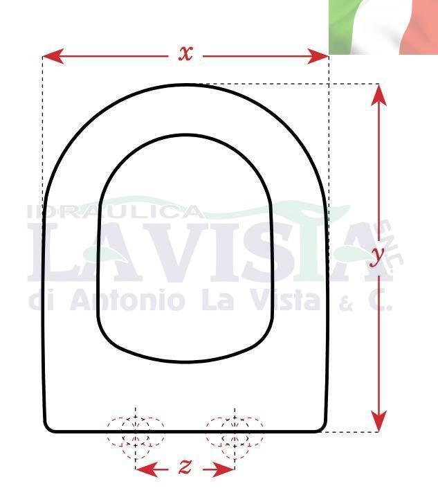 EOS COPRIWC.ARTIGIANALE IN IN IN LEGNO/POLIESTERE PER VASO ANTAGA CM.X34,3 X44X15,5   Jolie Et Colorée  98172a