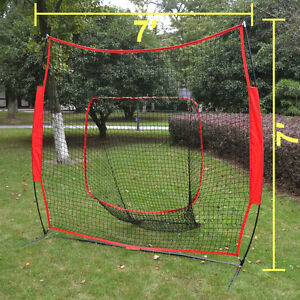 baseball net cages sport play indoor outdoor elevated