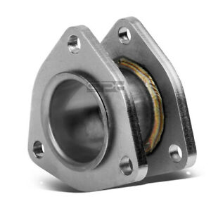 "2/""X 2.5/""INLET//OUTLET STAINLESS CATBACK//DOWNPIPE EXHAUST FLANGE EXTENSION ADAPTOR"