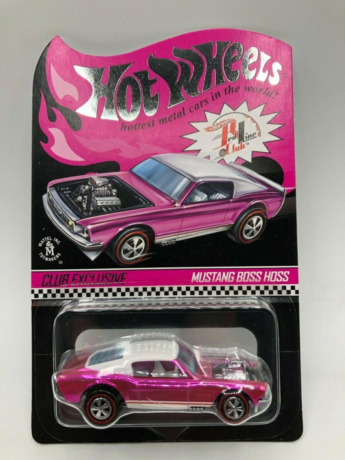 Hot Wheels Club Exclusive RLC Mustang Boss Hoss