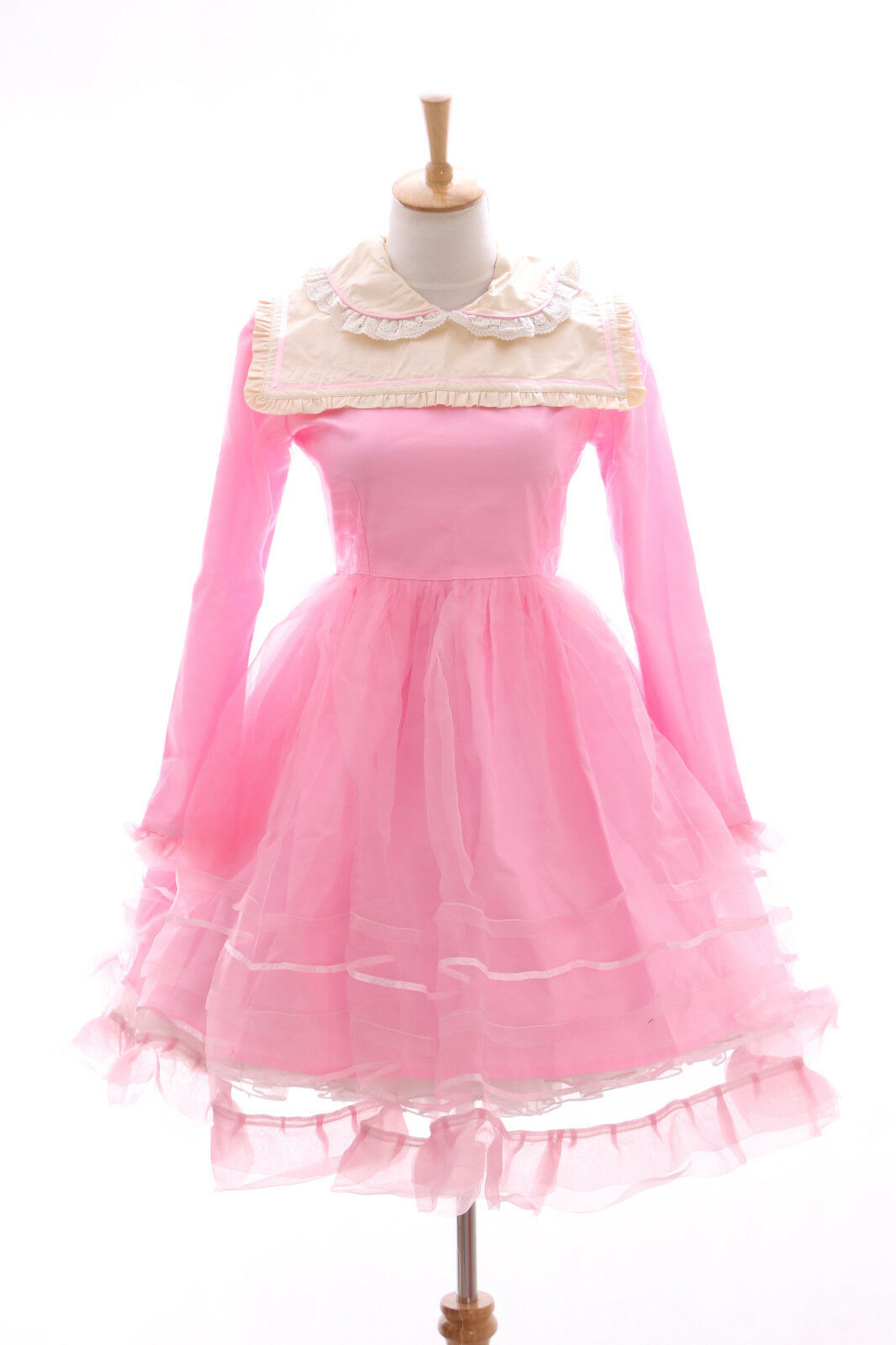 Jl-565-2a Pink Gothic Lolita Sweet Japanese Dress Costume Dress Cosplay Babydoll