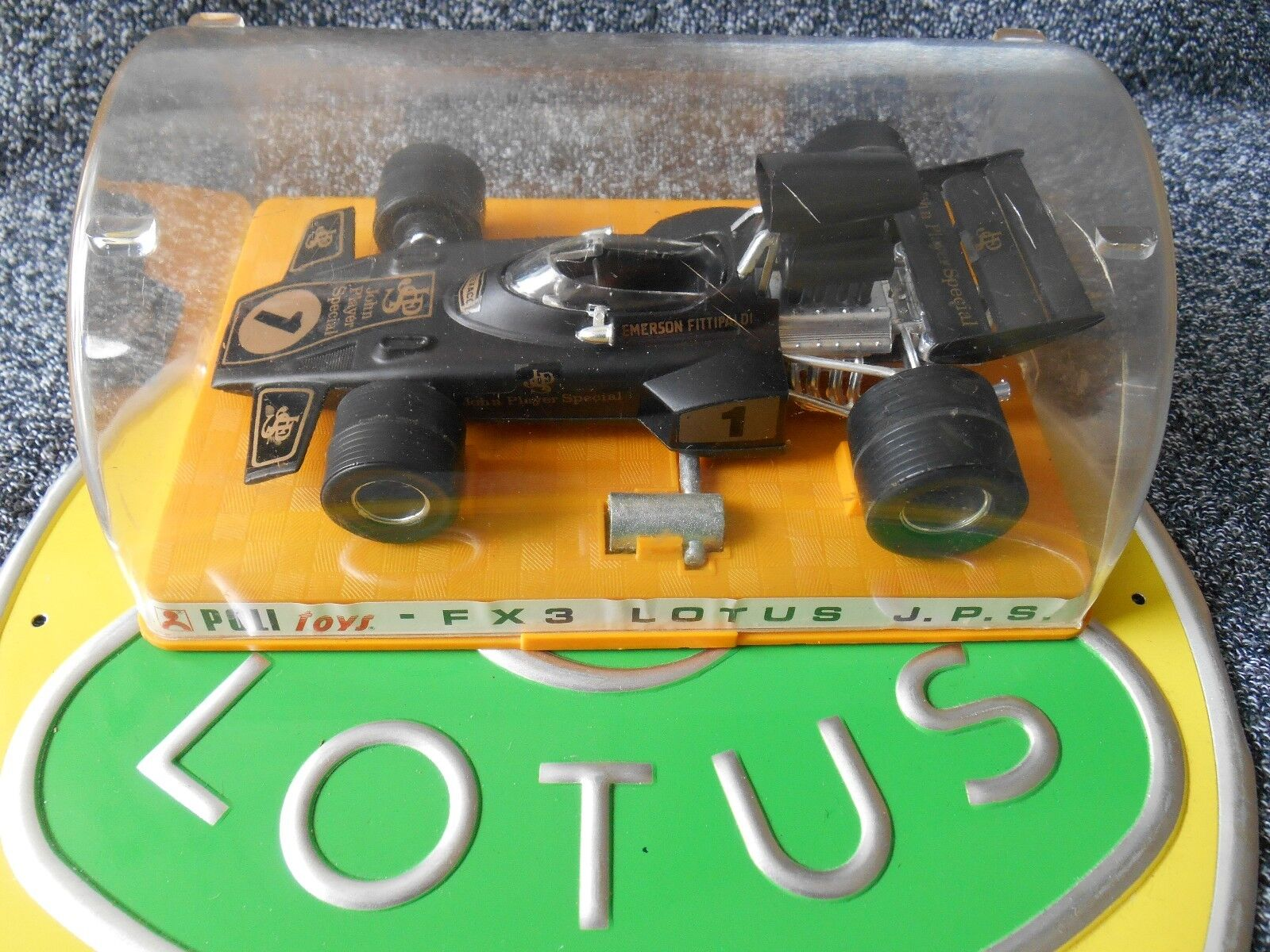 POLISTIL Lotus JPS 72 FX3 F1 1 25 PETERSON FITTIPALDI Walker Boxed