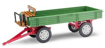 Anhänger Busch 210009501-1//87 Neu H0 E-Karre Grün