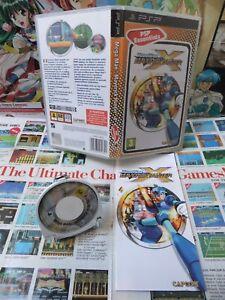 Sony-PSP-Megaman-Maverick-Hunter-X-TOP-CAPCOM-COMPLET-Fr