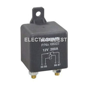 12 volt heavy duty split charging relay 200 amp ebay image is loading 12 volt heavy duty split charging relay 200 cheapraybanclubmaster Image collections