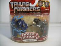 Transformers Rotf Jolt Vs Ravage Robot Heroes Movie Series 2