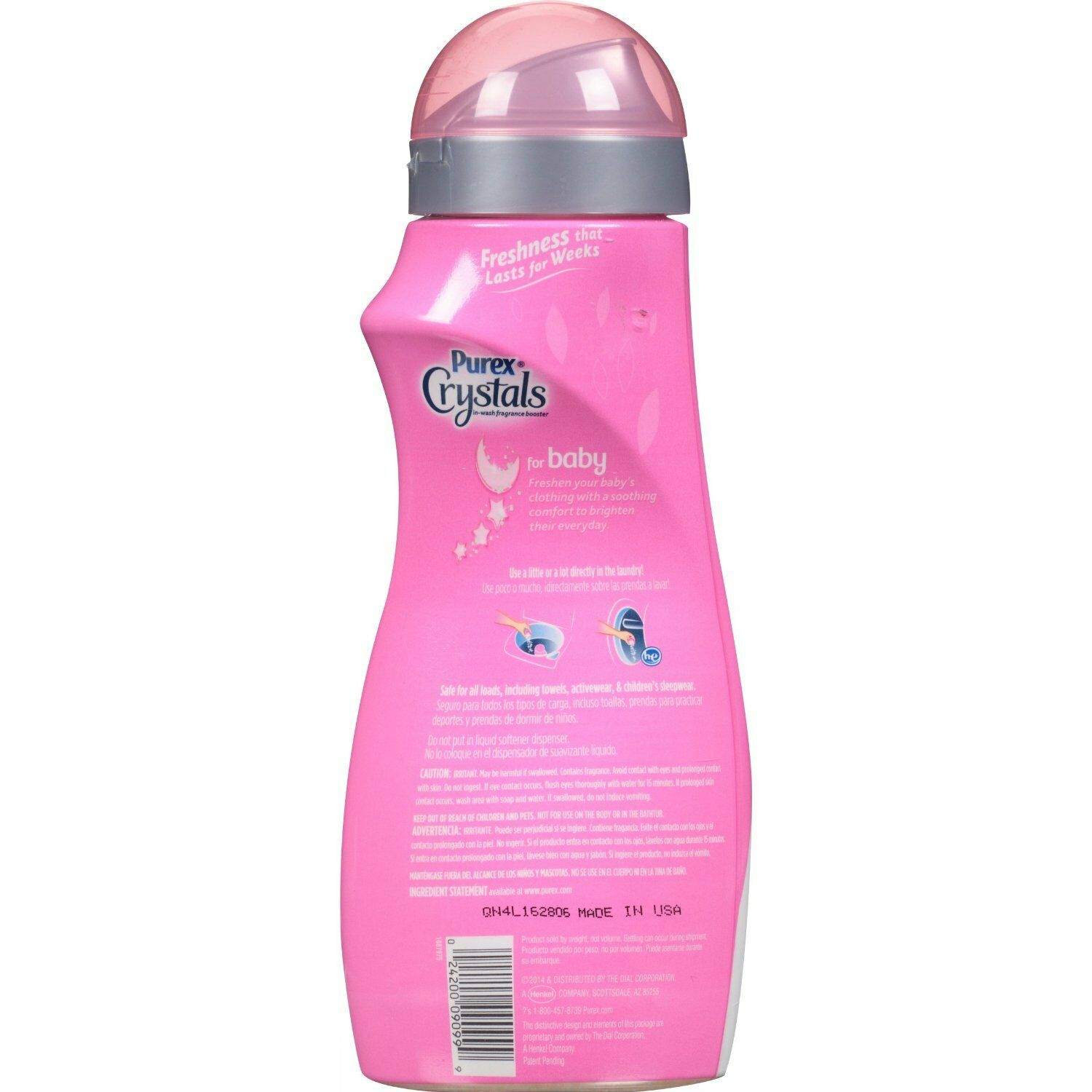 Purex Fabric Softener CRYSTALS FOR BABY Laundry Enhancer ...