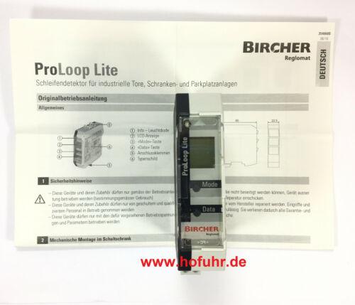 Bircher ProLoop Lite 1-Kanal Schleifendetektor für Induktionsschleifen