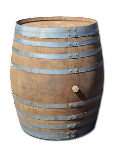 tonneau en bois cuve barrique eichenfa vieux tonneau table de bar cave 500 l ebay. Black Bedroom Furniture Sets. Home Design Ideas