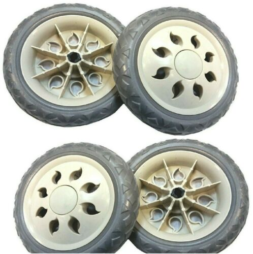 Spare Shopping Trolley Wheels Good Quality Only 1 Pair Wheels 2 X Replacement