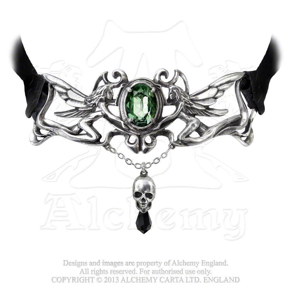 Alchemy Gothic La Fleur de Baudelaire Choker