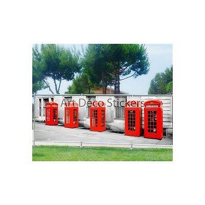 -schutz Sicht- Deko Druck: Telefonzelle 9163 Durchblutung GläTten Und Schmerzen Stoppen
