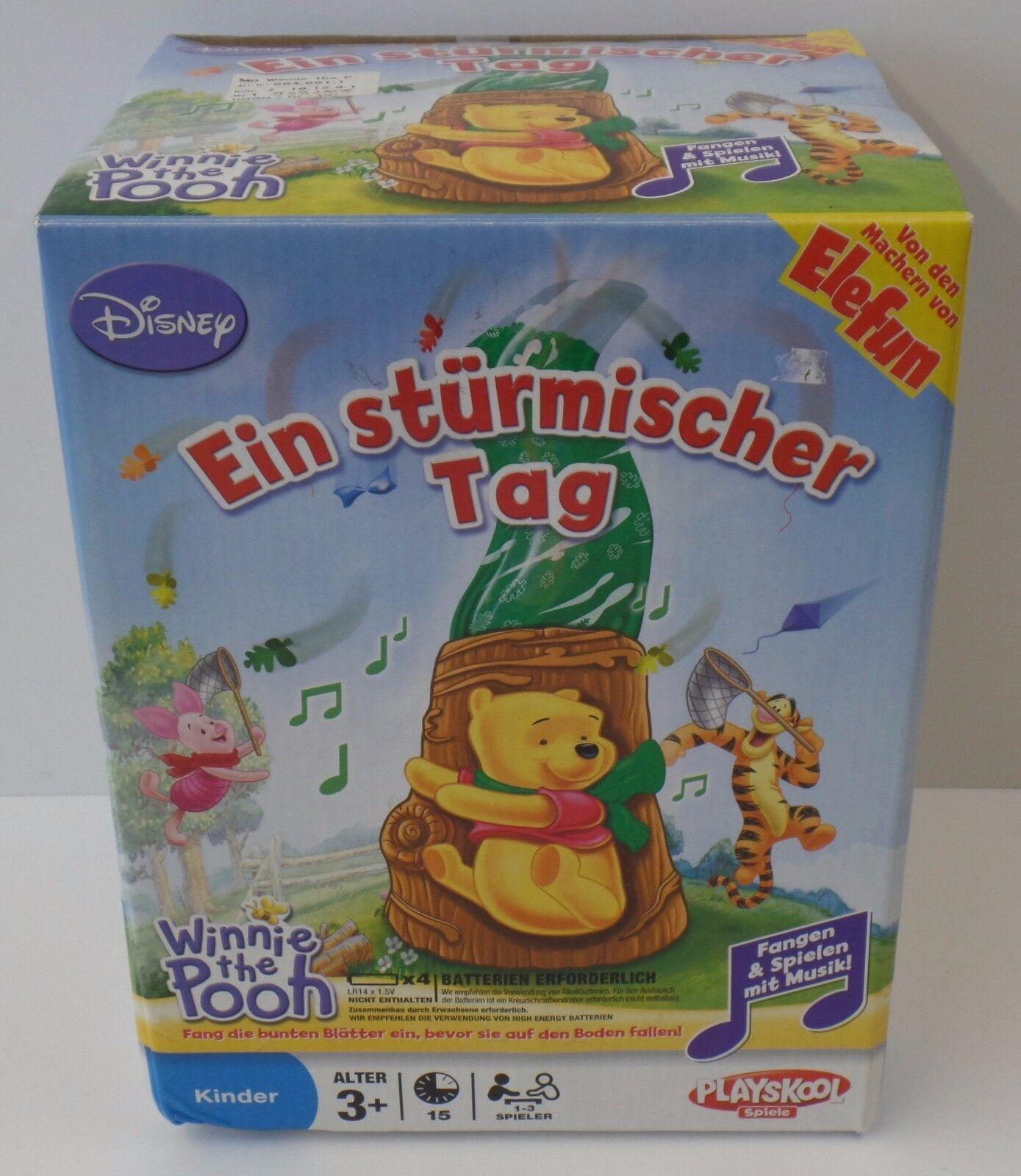 Hasbro - Playskool - Winnie Pooh Pooh Pooh ein strümischer Tag - NEU NEW 1d803a