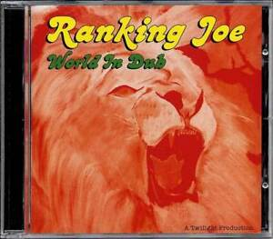 Music-CD-Reggae-Roots-Ranking-Joe-World-In-Dub-MRecord-New-Sealed-Twilight-Album