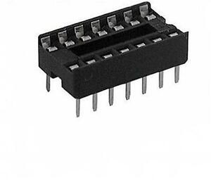 20X-14-Pin-DIP-IC-Sockets-Adaptor-Solder-Type-Socket-2-54mm-S