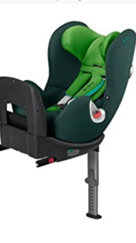 Cybex Platinum Sirona Car Seat green rear and forward facing 360 swivel isofix