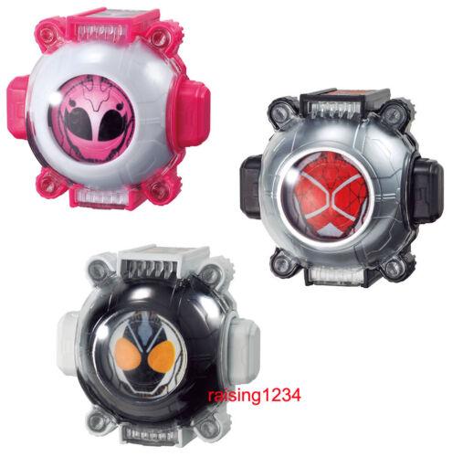 BANDAI Kamen Masked Rider Ghost Eyecon 10 Gashapon Himiko Wizard Fourze 3 pcs