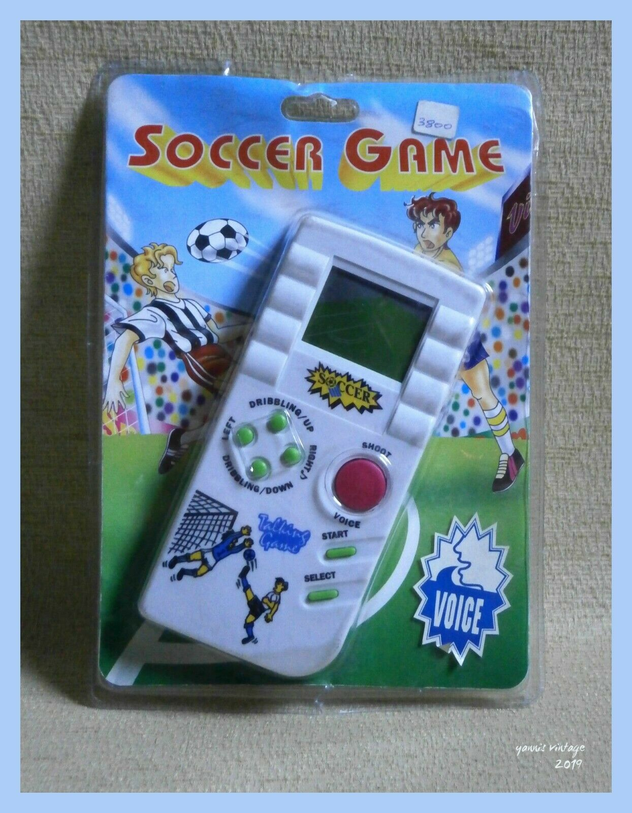 Soccer Game   MOSC Handheld ELECTRONIC LCD GAME Vintage Rare Retro