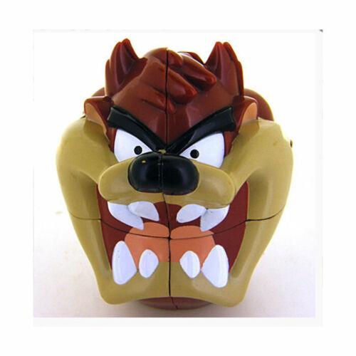 Looney Tunes Taz 2x2x2 Plastic Magic Cube Twist Puzzle Rare 1999 Warner Bros