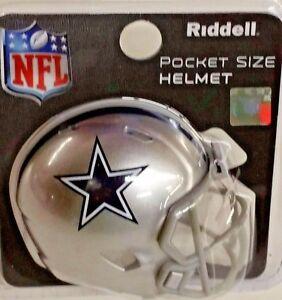 Image is loading NFL-Riddell-Pocket-Pro-Helmet-Dallas-Cowboys-New- aca4a063fa0