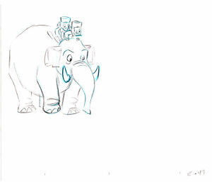 Ducktales Walt Disney Rough Production Animation Cel Drawing 1987-1990 004