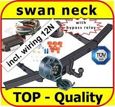 Towbar & Electric 12N VW Transporter T5 T-5 Multivan Caravelle 2003 On swan neck