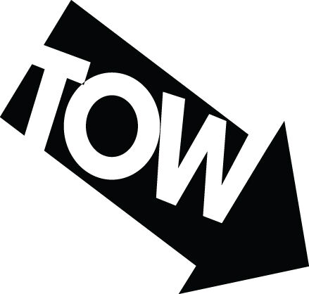 2 x TOW TOWING EYE  POINT FUNNY STICKER JDM STANCE DRIFT bumper