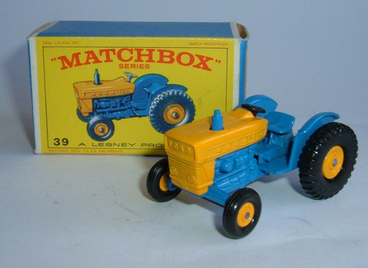 Matchbox series no. 39, ford tracteur, - superbe mint.