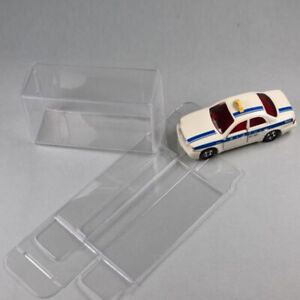 Display Box 1:64 Clear Plastic PVC Show Case For Diecast Model Toy Car 15-25